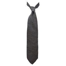 Moschino Pois Silk Tie