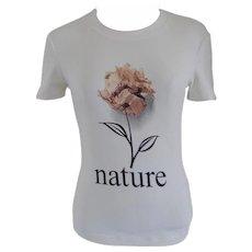 Moschino White Flower Shirt