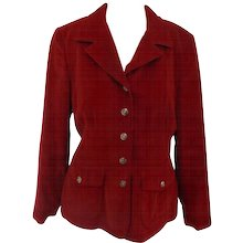 Moschino red jacket