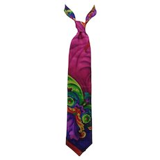 Gianni Versace multicoloured silk Tie
