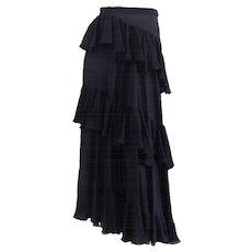Valentino Black Skirt