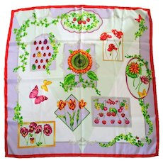 Versace Multicolour Silk foulard
