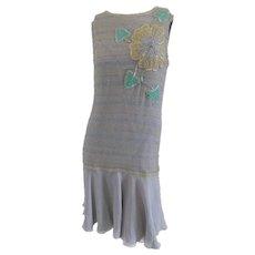 Simon and cailand's grey long dress