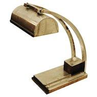 In the Spirit of Le Chevallier and Koechlin — Art Deco Desk Lamp, 1930s