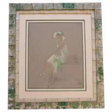 Louis Icart — 'Elegant Lady', 1930s