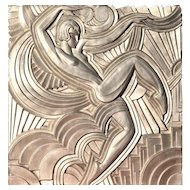 Replica of the 'Folies Bergeres' Pediment by Maurice Picaud Art Deco, circa 1930