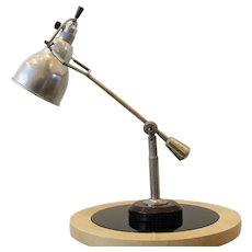 Modernist Desk Lamp by E-W Buquet, France, Art Deco, 1930s