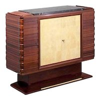 Mahogany dresser, by Gaston Poisson, XXth c.