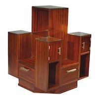 Piece of furniture for presentation, by René JOUBERT & Philippe PETIT, ca 1930