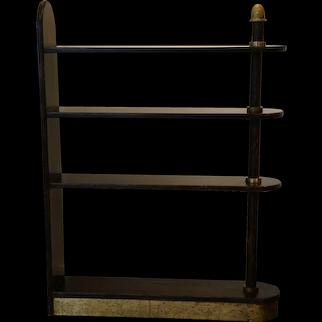 Exceptional Palmwood Bookcase by Eugène Printz,