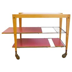 Maxime Old — Trolley table, 1950s