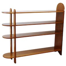 Eugène Printz — Art Deco Mahogany Shelf or Bookcase, 1932