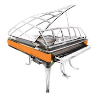 Grand Piano by Poul Henningsen