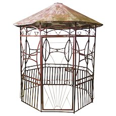 Art Deco Wrought Iron Pergola - France 1920s