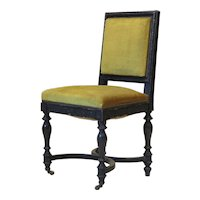 Set of 5 Napoleon III Laurel Leaf Motif Chairs - France, 19th Century