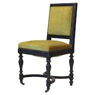 Set of 5 Napoleon III Laurel Leaf Motif Chairs - France, 19th Century