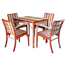Beach Spirit Dining Set - France, 1950s