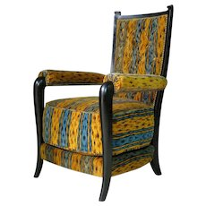 Set of Three Art Deco Armchairs - France, circa 1930s