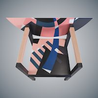 Memphis Mendini Limited Zabro Chair Table for Zanotta