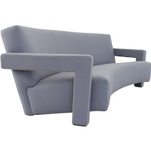 Gerrit Rietveld Lounge Utrecht couch and chair by Cassina