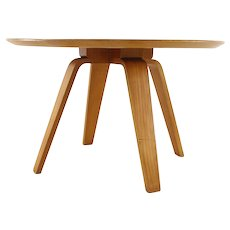 BirchWood Laminated Coffee table by Cor Alons for Den Boer Holland