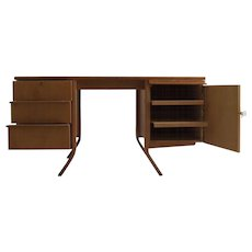 Bentwood writing desk by Cees Braakman for UMS Pastoe