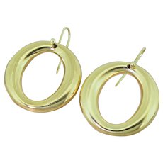TIFFANY & CO. Elsa Peretti Sevillana Hoop Earrings, 18k Gold