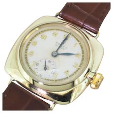 ROLEX Cushion Shaped Oyster Watch, dated 1938