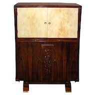 Art Deco Cabinet bar Attributed to Jules Leleu