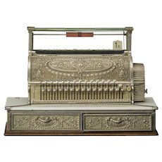 "Cash register, ""National"", circa 1900"