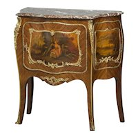 Decorative French console cabinet, circa 1900