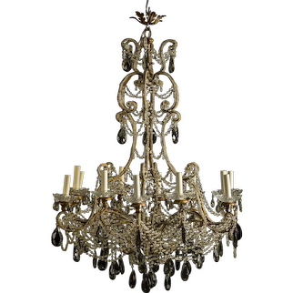 Decorative Belle Epoque Chandelier