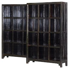 Pair of bookcases, China 1840