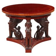 Center table, Denmark 1900-1920