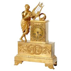 Empire bronze clock, France 1810