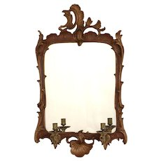 Danish Rococo mirror, Denmark 1770
