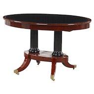 Elegant center table, Denmark 1820-1830.