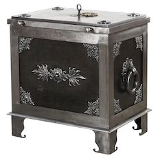 Safe chest, Baroque style, c. 1840