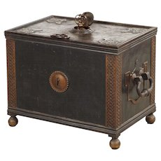 Safe chest, Northern Europe 1820-1850.