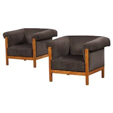 Art Deco armchairs, Sweden 1920