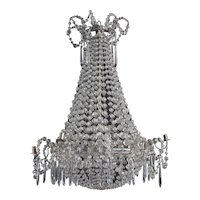 Crystal chandelier, Spain 1820
