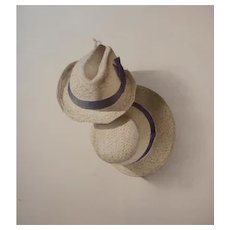 'Hats' watercolour, by S. Bender at RAMSAY