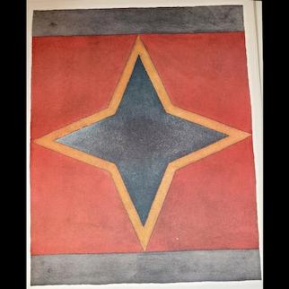 'Sette stelle' 1983 by Sol Le Witt