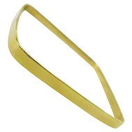 Cartier Square Gold Bangle Bracelet, 1970s