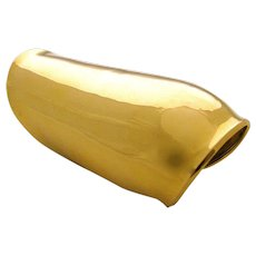 "Robert Lee Morris, An Impressive Gold ""Falcon"" Cuff"