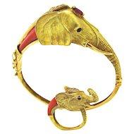 ecc8d71bb Vintage Cartier Gold Door-Knocker Earrings : Kimberly Klosterman ...