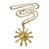 "1970s Bulgari ""Sun"" Necklace"