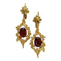 1960s H. Stern Gemstone Drop Earrings
