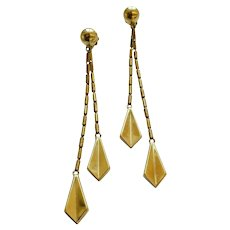 Chimento Convertable Dangle Earrings, circa 1990