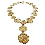 Cartier Silver-Gilt Necklace Belt circa 1970